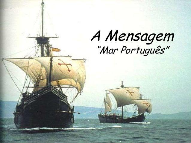 """A Mensagem """"Mar Português"""""""