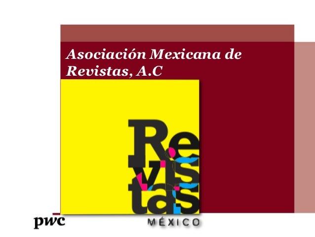 Asociación Mexicana deRevistas, A.CSubtitle goes here