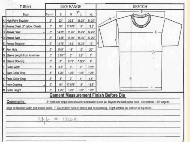 FABRIC CONSUMPTION CALCULATION OF A WOVEN SHIRT Rules: {1/2 Chest X (B length + Sleeve length)}X 2 / 36 / Fabric width + w...