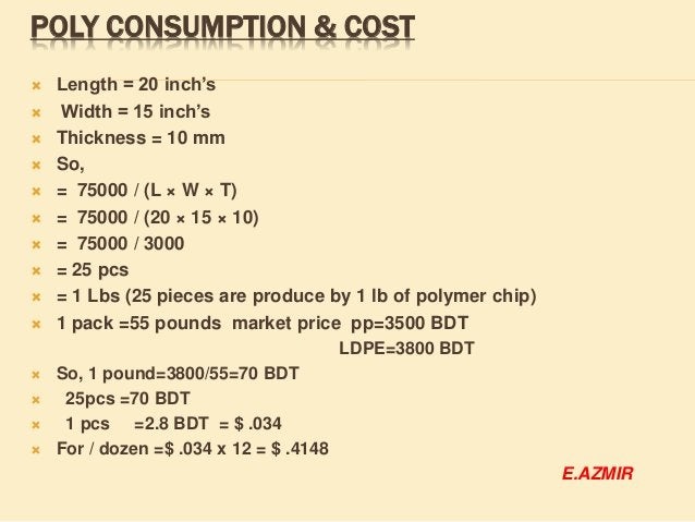 EMBROIDERY COST:  We have to know,  In embroidery m/c 1 head= 18000 stitch/hour(general speed)  Where number of needle ...
