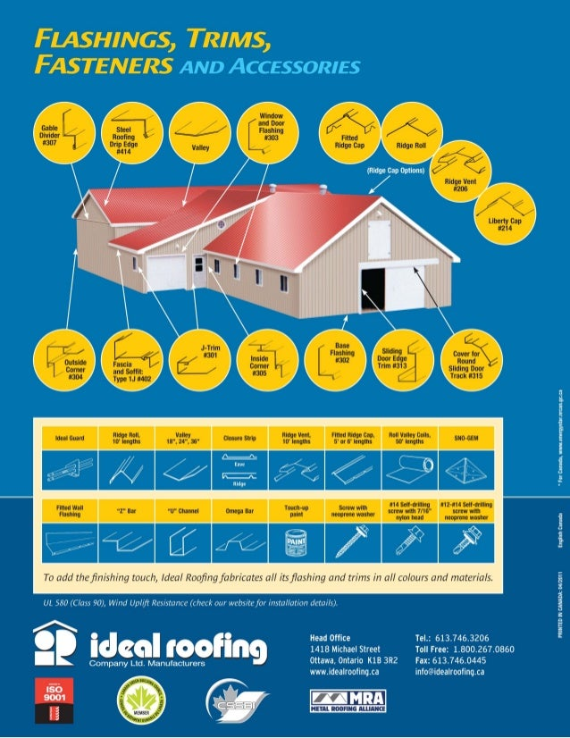 Ameri Cana Standing Seam By Ideal Roofing Brochure