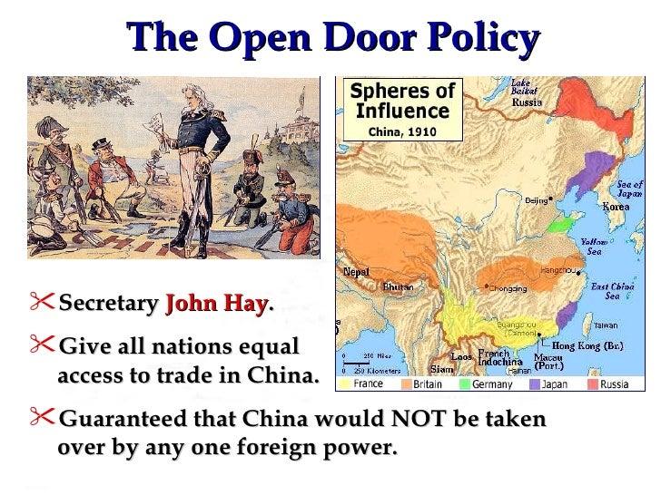 open door policy imperialism. 59. The Open Door Policy Open Door Policy Imperialism I