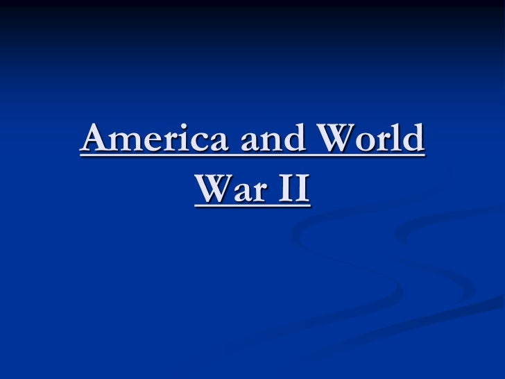 world war ii and america America was the largest military power in the world throughout the war hundreds more alphabet agencies were created to manage the american homefront the united states government spent over twice as much money fighting world war ii as it had spent on all previous programs since its.