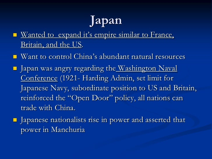 What Natural Resources Did Manchuria Have That Japan Wanted
