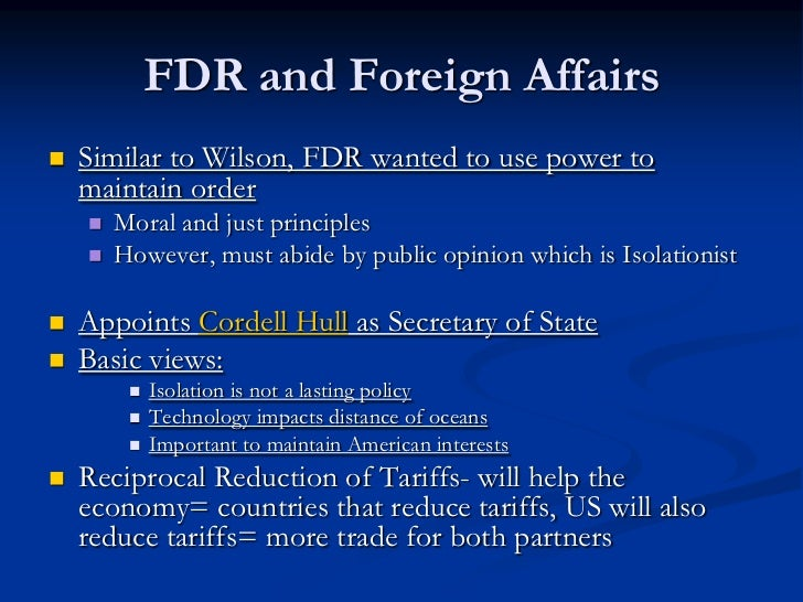 American Foreign Policy in Three Influential Wars
