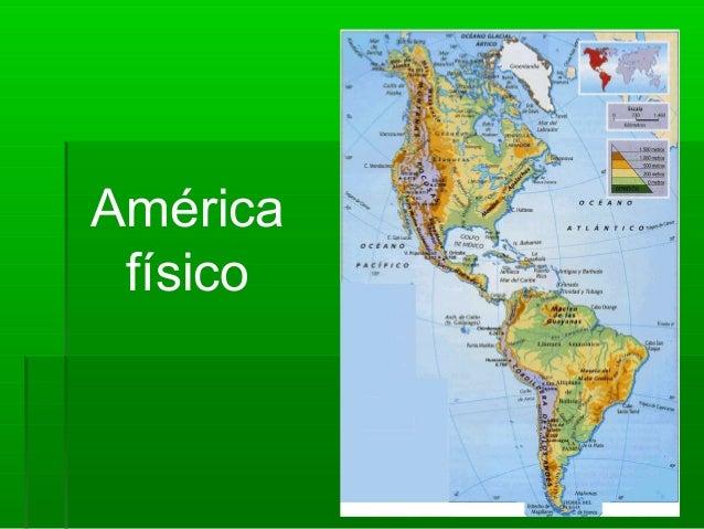 América físico