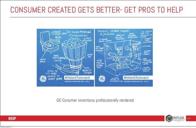 CONSUMER CREATED GETS BETTER- GET PROS TO HELP  GE-Conumer inventions professionally rendered  119  Wednesday, January 8, ...