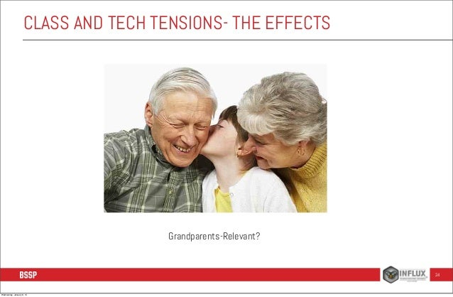 CLASS AND TECH TENSIONS- THE EFFECTS  Grandparents-Relevant?  24  Wednesday, January 8, 14