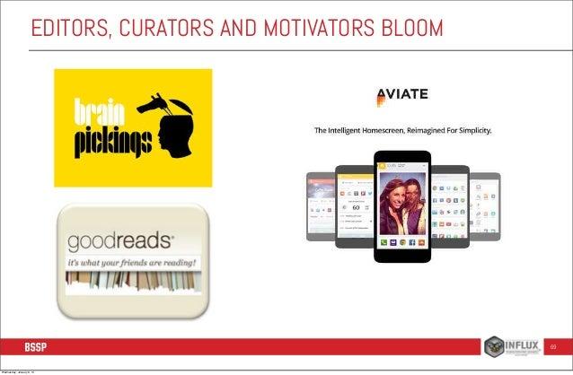 EDITORS, CURATORS AND MOTIVATORS BLOOM  69  Wednesday, January 8, 14
