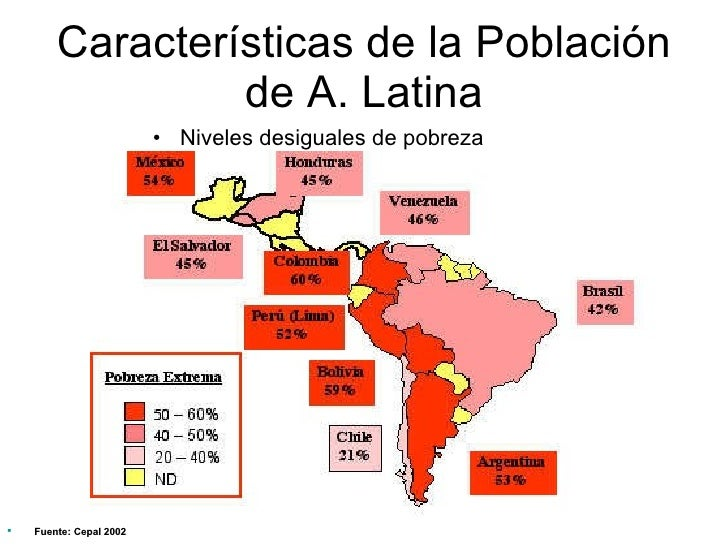 america latina caracteristicas generales de la - photo#29
