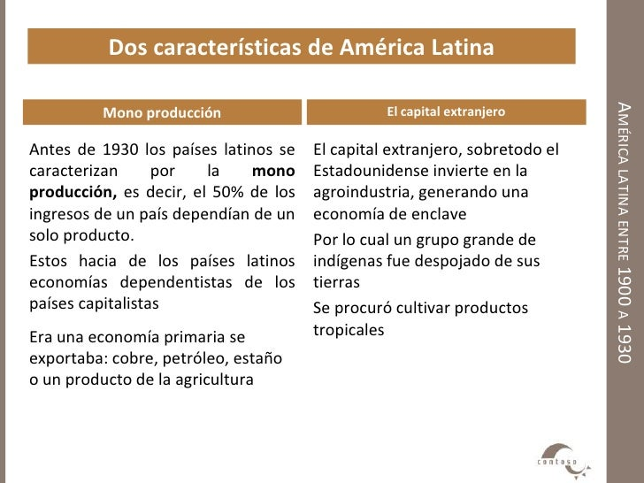 america latina caracteristicas generales de la - photo#10