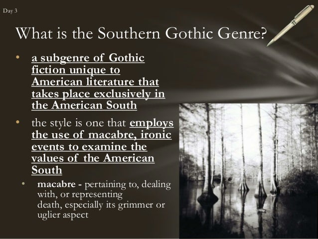 southern gothic stories a streetcar named Check out our top free essays on southern gothic literature to  notions of southern identity in a streetcar named  a southern gothic story is .
