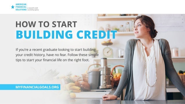 How to Start Building Credit