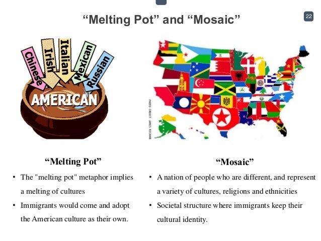 cultural mosaic in a sentence