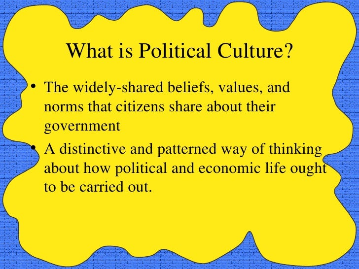 Political Culture – Definition, Types & Examples