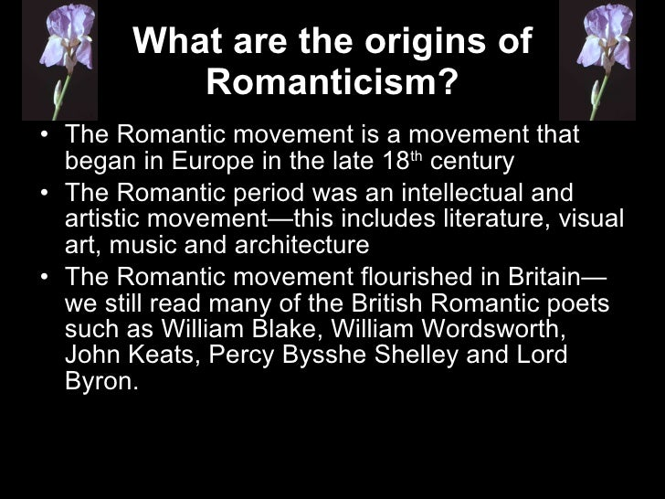 """romantic movement and the american dream This statement, and the american dream itself, are highly romantic, implying  belief in the  the essence of the american dream in the colonial period was """" the."""