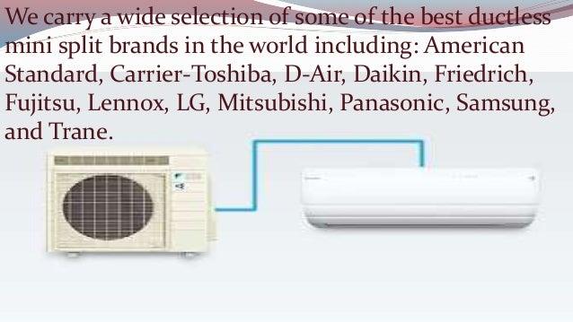 American Standard Ductless Mini Split Air Conditioner