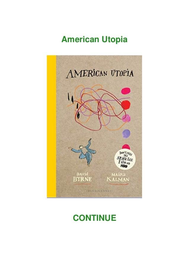 American Utopia CONTINUE