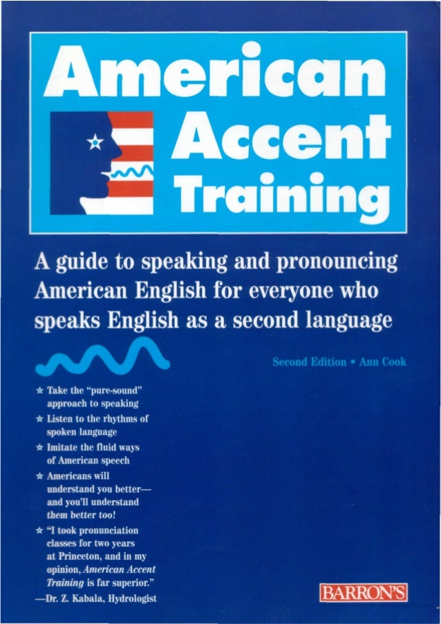 Session V2 - American accent training