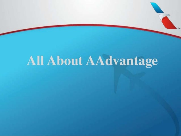 All About AAdvantage