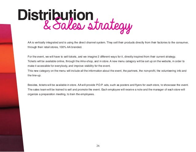 dealer distribution business plans samples