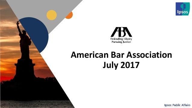 1 American Bar Association July 2017 1