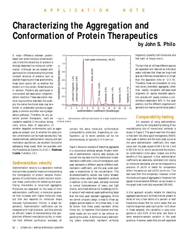 A major difference between protein- based and small-molecule pharmaceuti- cals is that the bioactivity of proteins is stro...