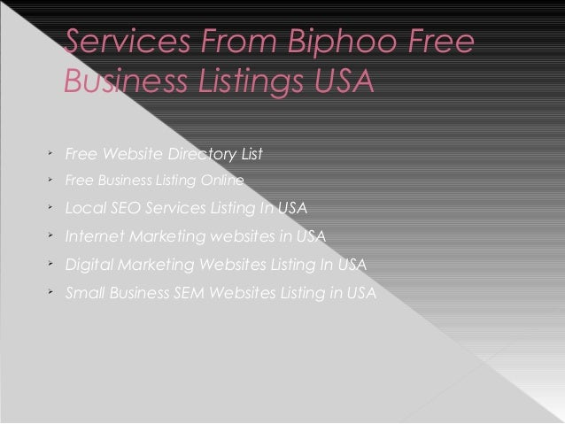 American business directory