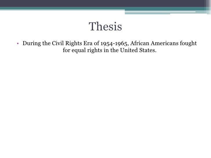America civil essay in movement right