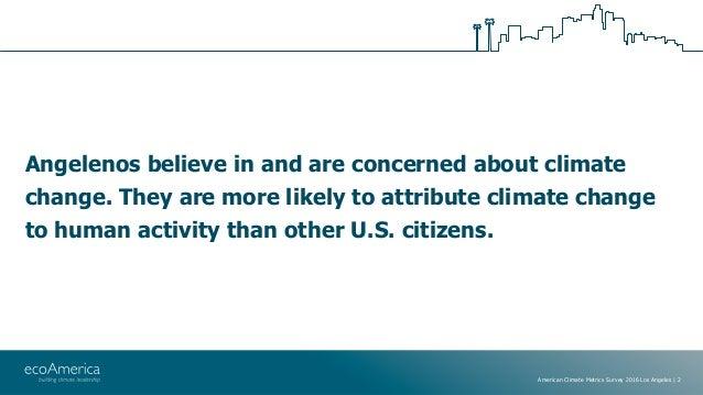 American Climate Metrics 2016 - LA Slide 2