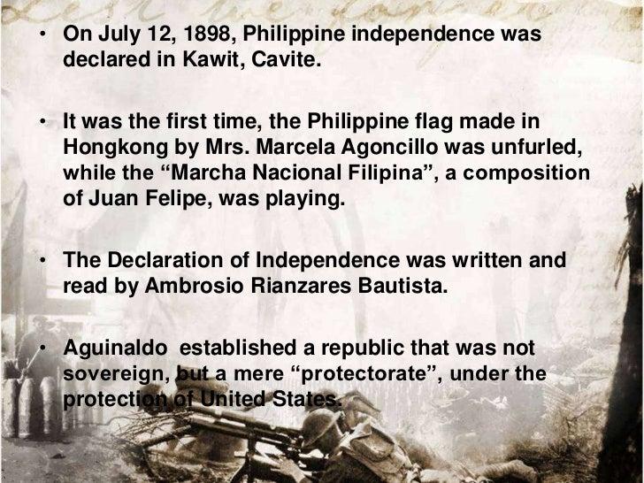 • On June 23, 1898, Aguinaldo issued a decree establishing  the Revolutionary Government.• The decree created four agencie...