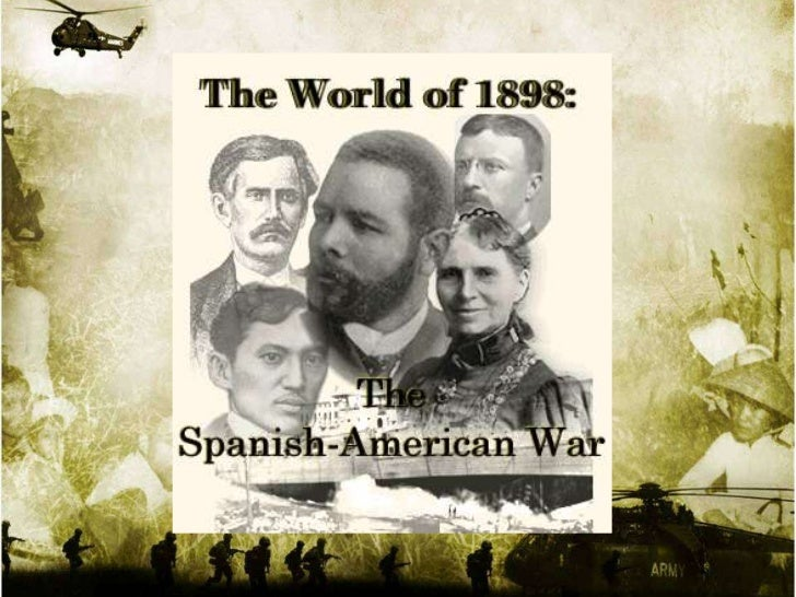 • The      Cuban     revolution  against the Spaniards broke  out in 1895. The United  States supported the Cubans  becaus...