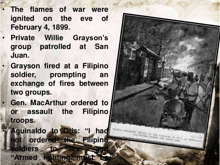 • When the anticipated reinforcement of  the US troops arrived, the aggressors  intensified the hunt for Aguinaldo.• When ...
