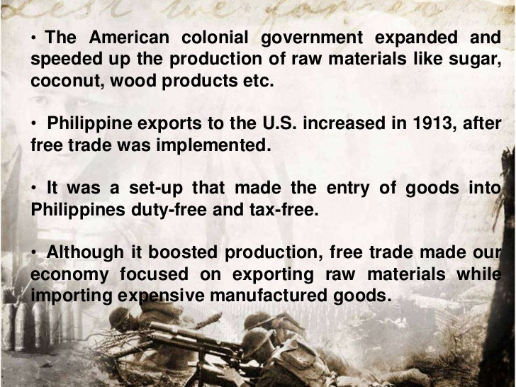 • American        governmentpushed landless peasants forthe   cultivation  of   morefarmlands to further boostproductions....