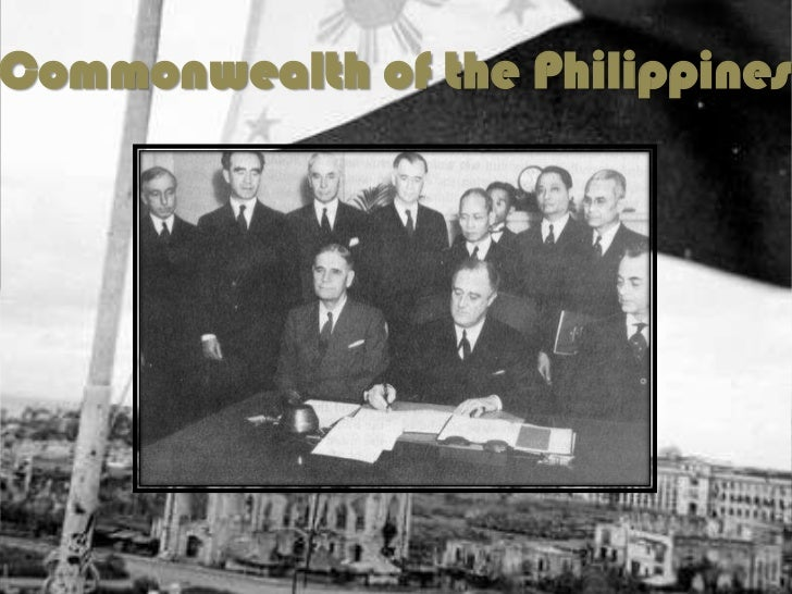 Changes During the Commonwealth Period                   • Filipinos    oversaw      the                     affairs of th...
