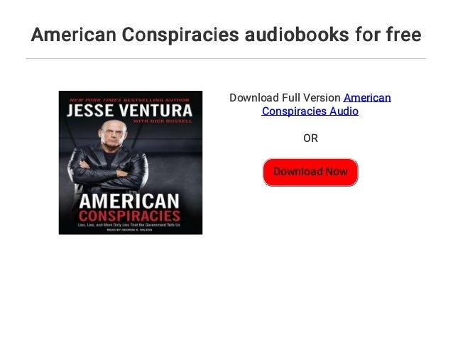 Jesse Ventura American Conspiracies Pdf