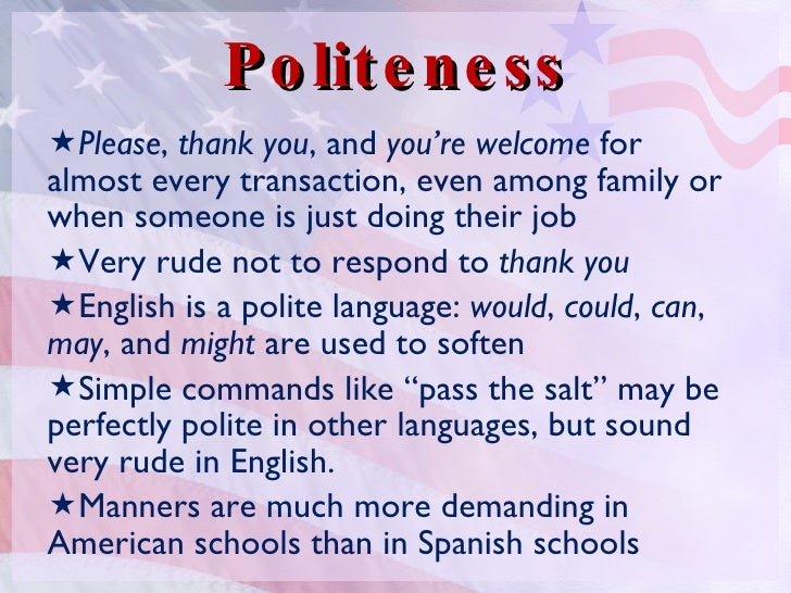 value of politeness