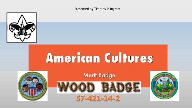American cultures merit badge bsa