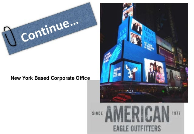american eagle outfitters inc View the basic aeo stock chart on yahoo finance change the date range, chart  type and compare american eagle outfitters, inc against other companies.