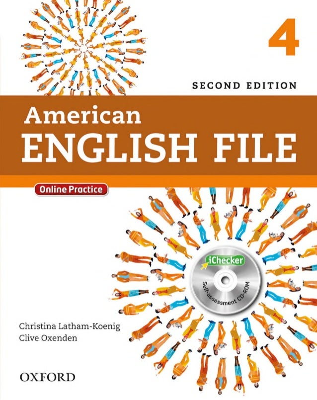 American English File 4 Student Book (Second Edition)
