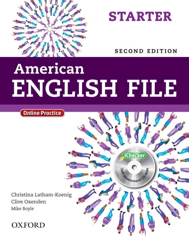American English File Starter Second Edition Pdf