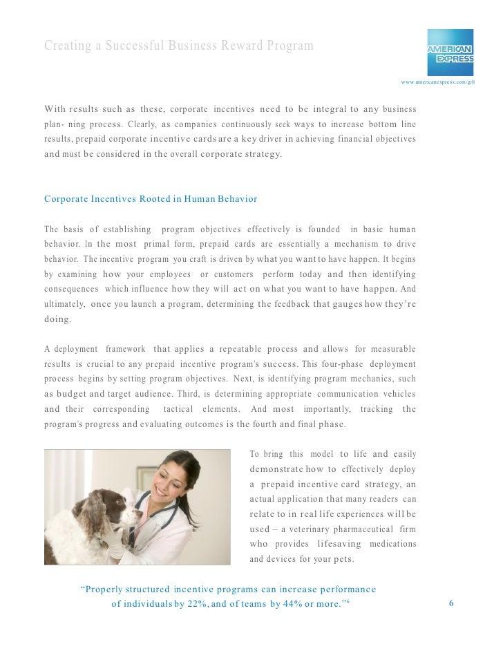 Americanexpress Com Reward >> Creating A Successful Business Reward Program