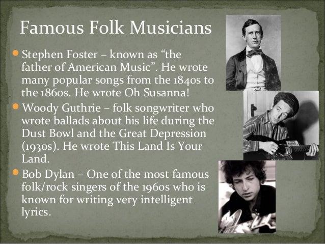 top 10 folk music lists