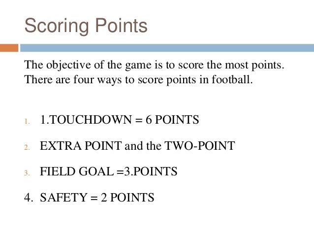 american football punkte