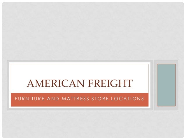 American Freight Store Locations