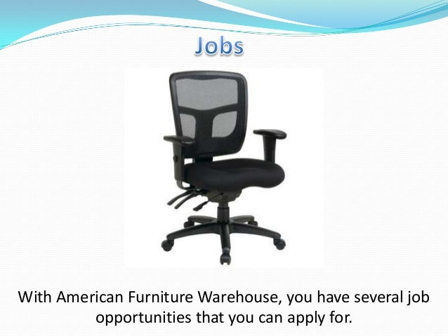 American Furniture Warehouse Application