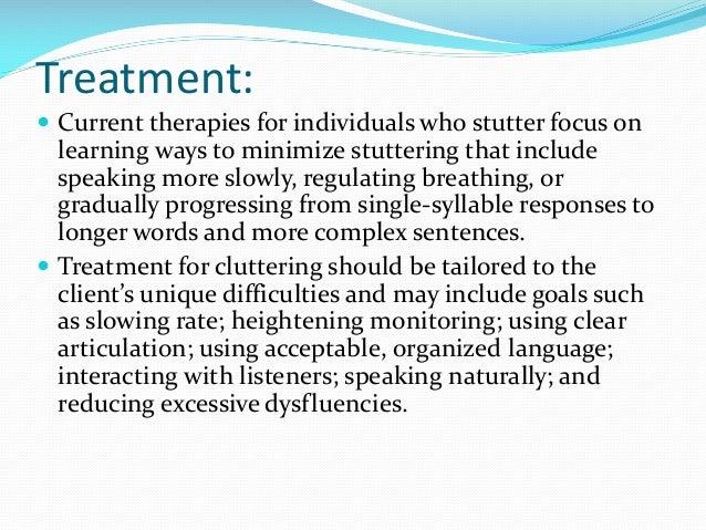 Stutter Treatment Naturally