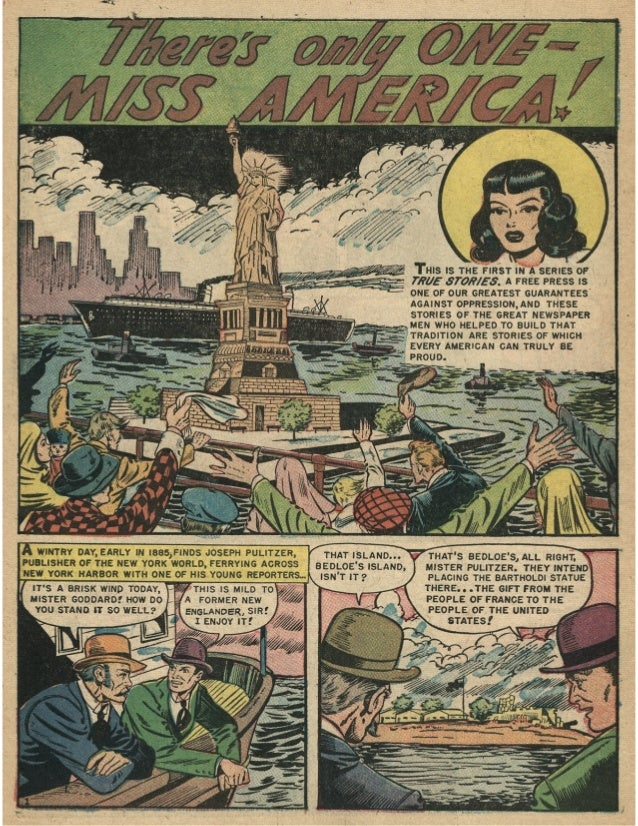 American History - Statue of Liberty, Free Comic