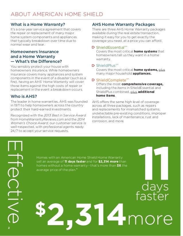 American Home Shield Warranty Service Request