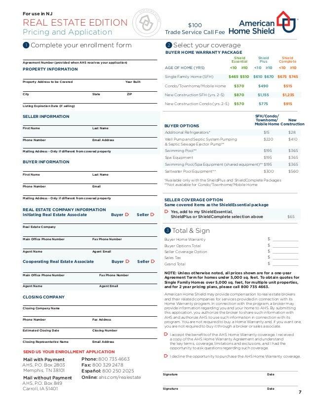 American home shield warranty nj - American home shield swimming pool coverage ...